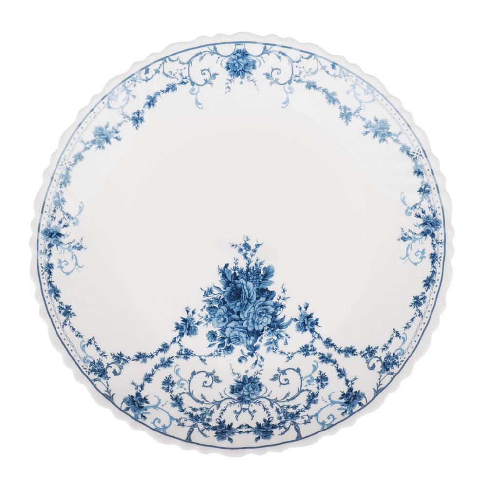 "Тарелка десертная d.21,5 см, опаловое стекло, MILLIMI ""Ариадна"""