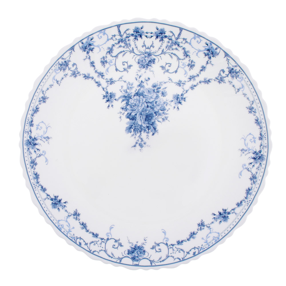 "Тарелка подстановочная  d.24 см, опаловое стекло, MILLIMI ""Ариадна"""