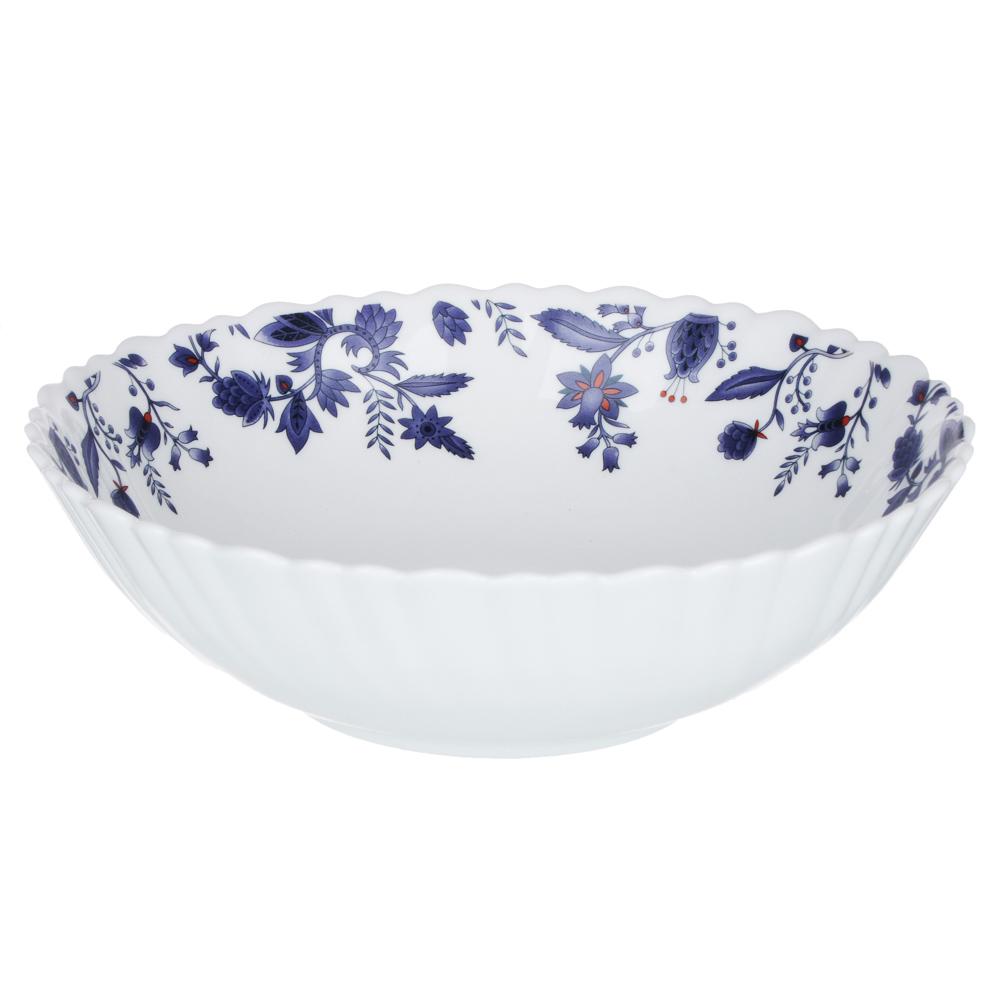 """Набор столовой посуды 19 предметов, опаловое стекло, MILLIMI """"Таис"""""""