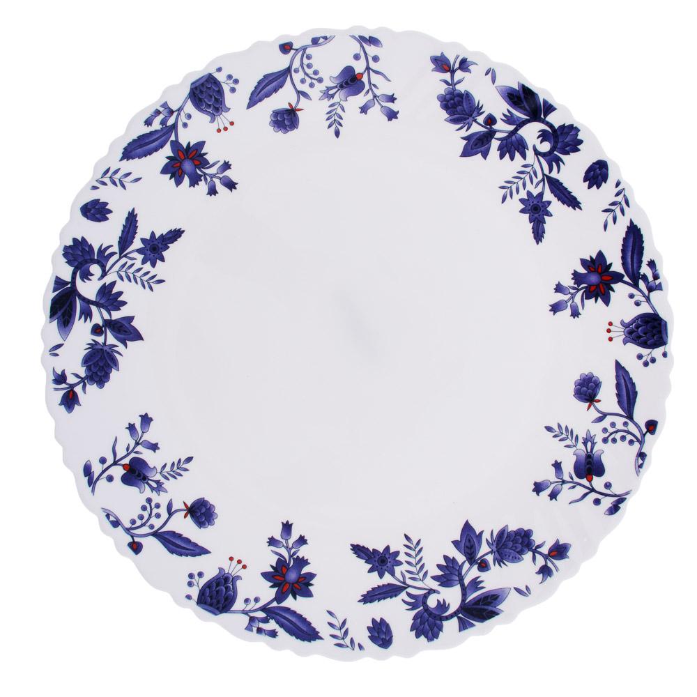 """Тарелка десертная d. 21,5 см, опаловое стекло, MILLIMI """"Таис"""""""