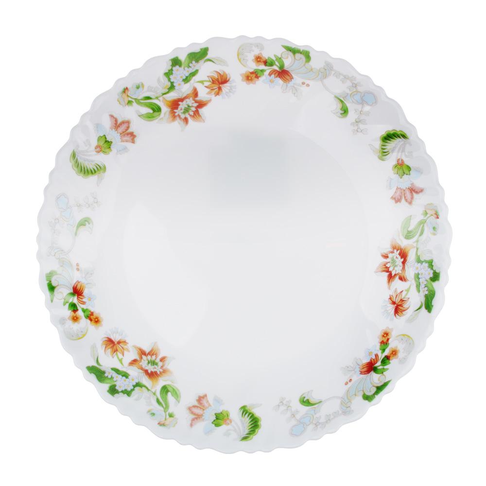 "Тарелка подстановочная d.24 см, опаловое стекло, MILLIMI ""Серсея"""