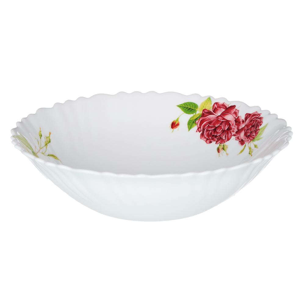 """Набор столовой посуды 13 предметов, опаловое стекло, MILLIMI """"Инесса"""""""