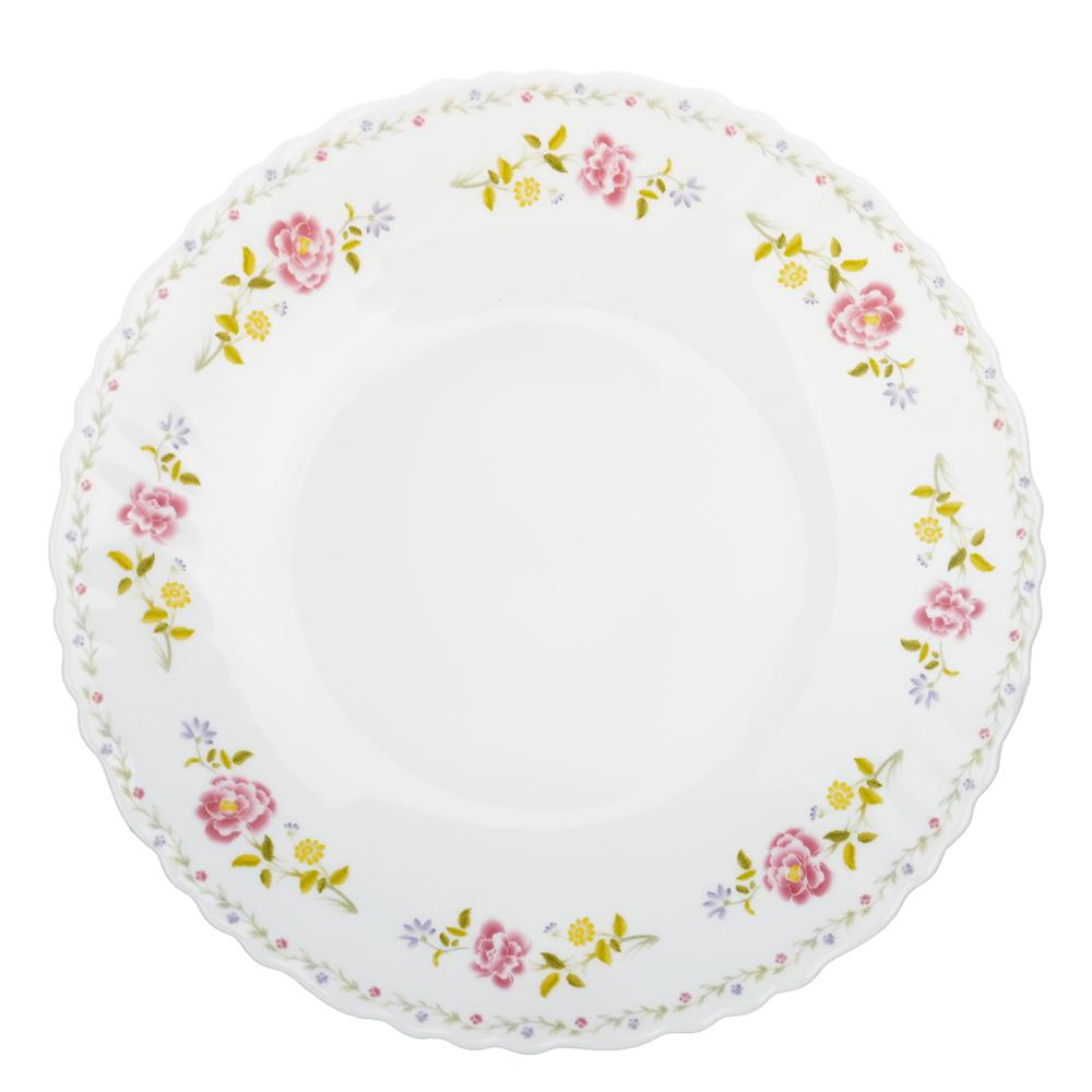 "Тарелка десертная d.19 см, опаловое стекло, MILLIMI ""Диана"""
