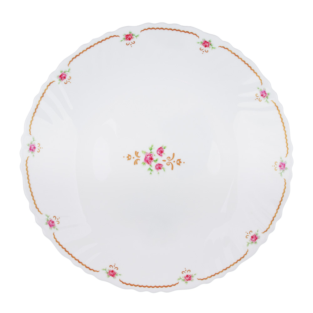 "Тарелка десертная d.19 см, опаловое стекло, MILLIMI ""Наяда"""