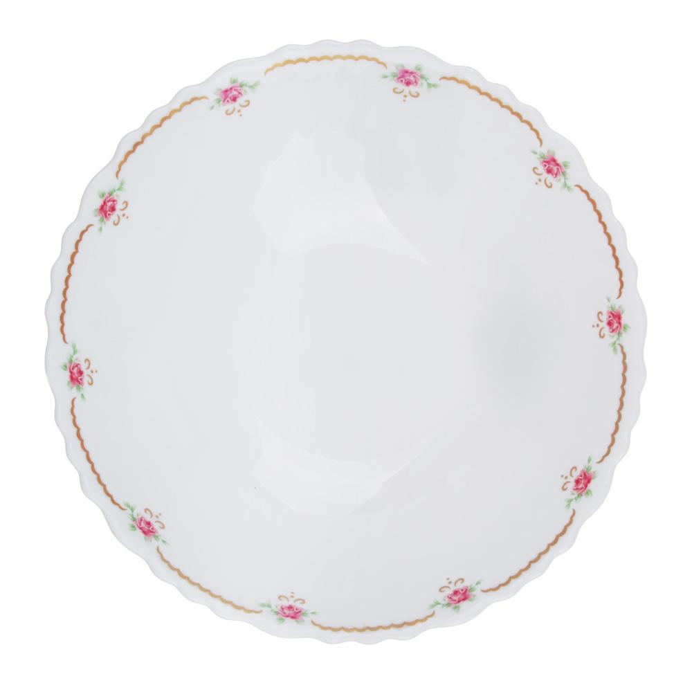 """Салатник d.16,5 см, опаловое стекло, MILLIMI """"Наяда"""""""