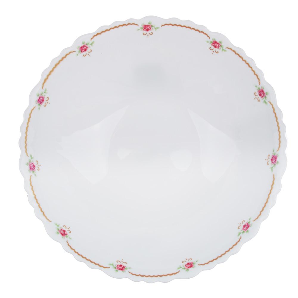 """Салатник d.19 см, опаловое стекло, MILLIMI """"Наяда"""""""