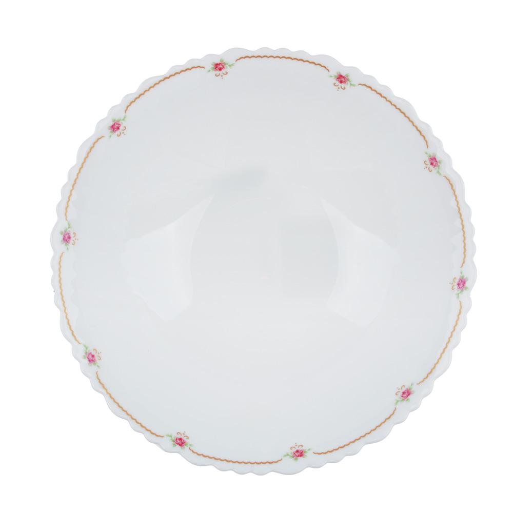 """Салатник d.24 см, опаловое стекло, MILLIMI """"Наяда"""""""