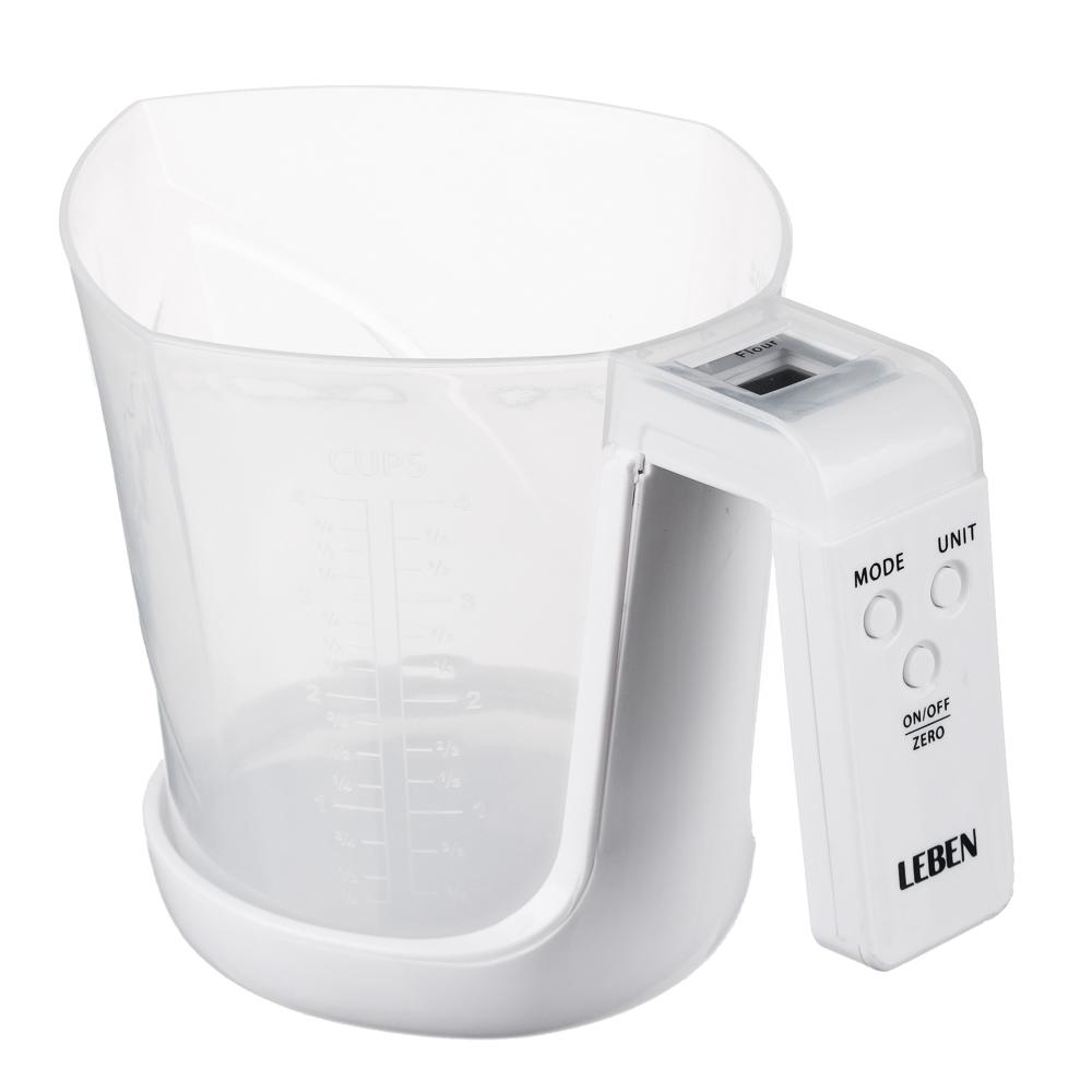 Весы кухонные электронные LEBEN ЕСО, до 5 кг