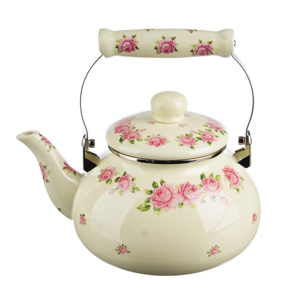 Чайник 2,5 л VETTA Розанна, эмалированный, индукция