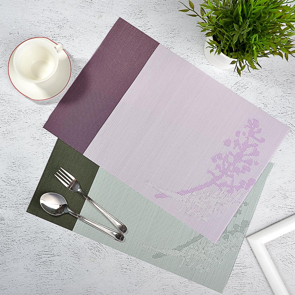 """Салфетка сервировочная ПВХ, 30x45см, 2 цвета, """"Нежность"""""""