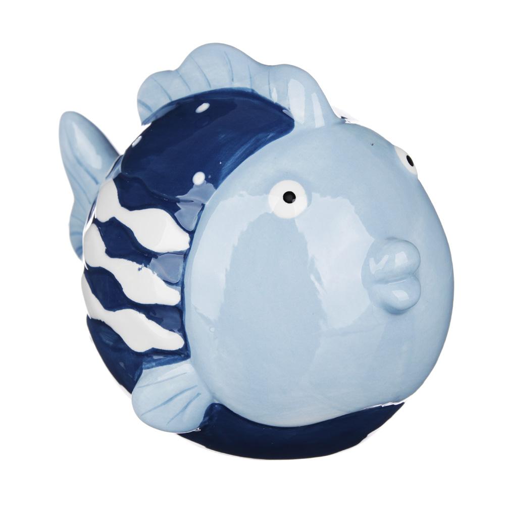 "MILLIMI Фигурка ""Рыба-кит""  12,1х8,8х9,2см, керамика"
