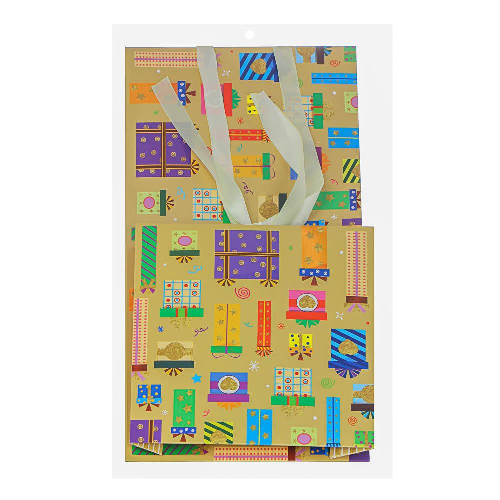 Коробка подарочная, складная, бумага, 25х25х25 см, 4 цвета