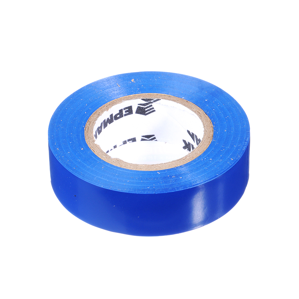 Изолента, 19 мм-18 м, синяя, ЕРМАК