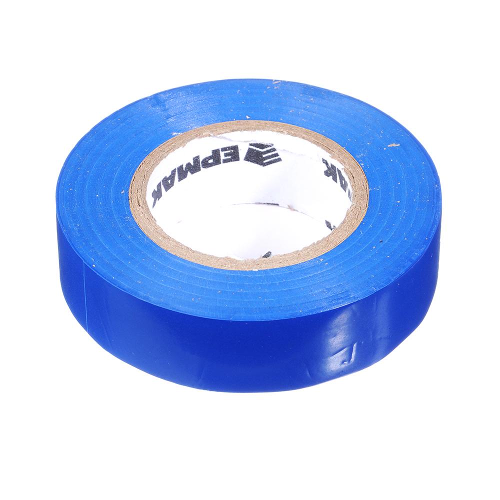 Изолента, 18 мм-20 м, синяя, ЕРМАК премиум класс