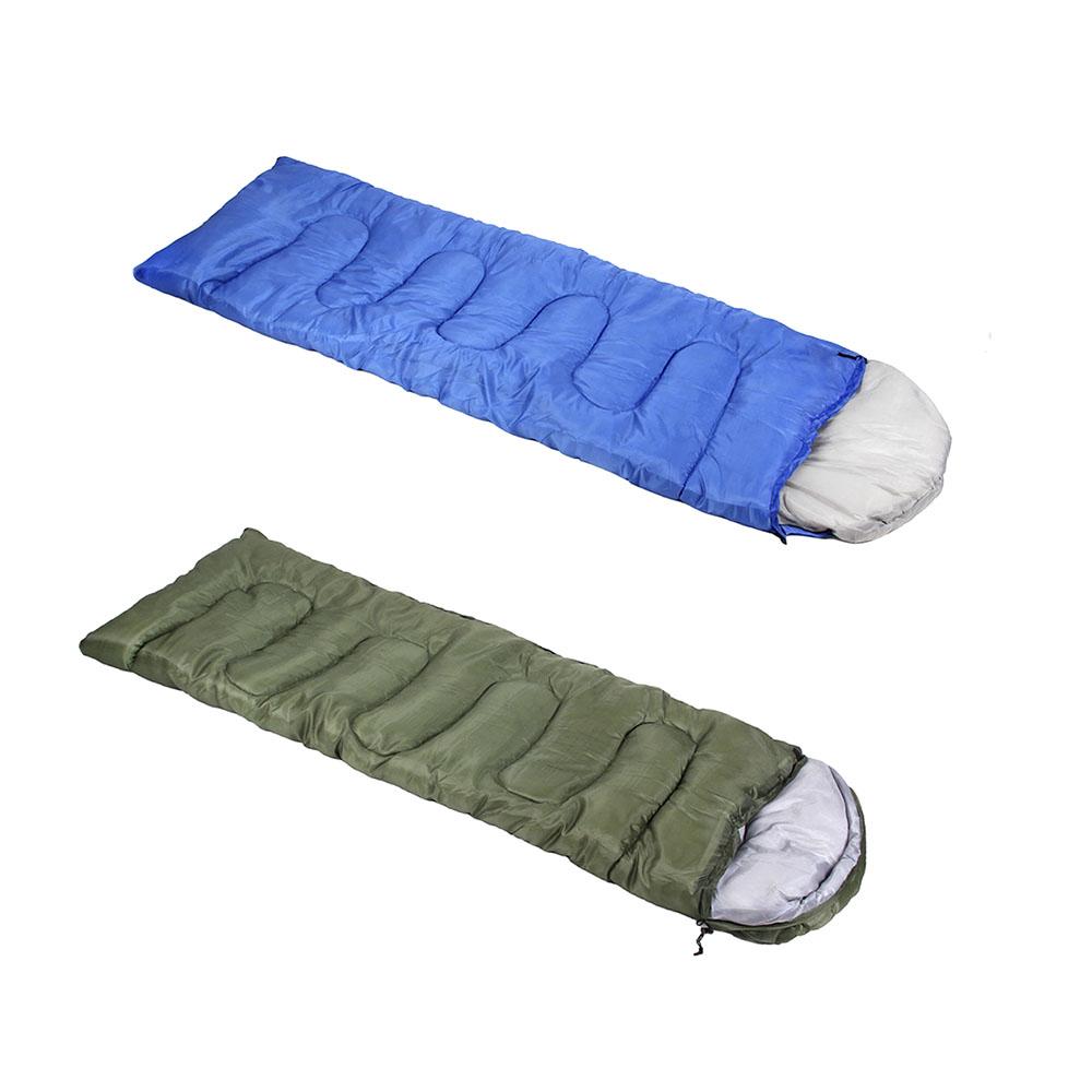 AZOR FISHING Спальник универсальный, набивка хлопок, чехол 100% полиэстер, 2,2 КГ, до -15 градусов