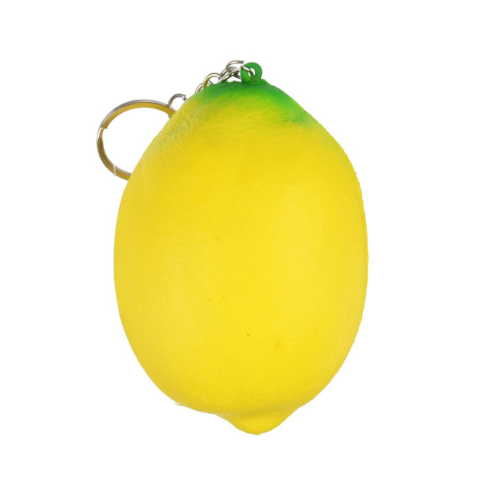 Игрушка-мялка лимон с ароматом, ПУ, 7х9х7см