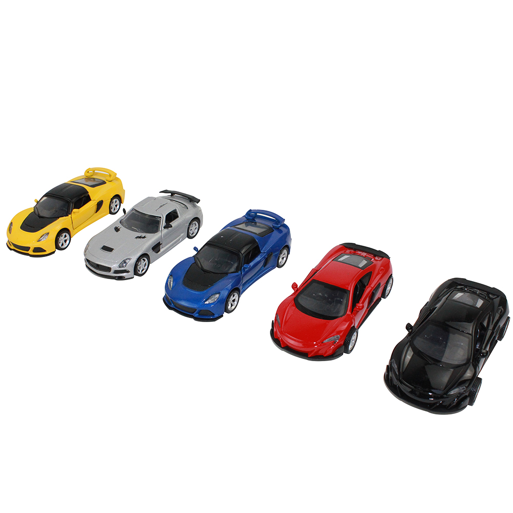 ИГРОЛЕНД Машинка инерционная, металлическая, 15см, металл, пластик, 15,9х7,7х7,2см, 3 дизайна