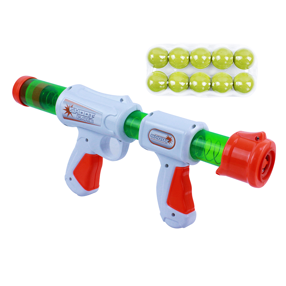 ИГРОЛЕНД Ружье 34 см, 10 шариков, пластик, 35,5х15х6,5см