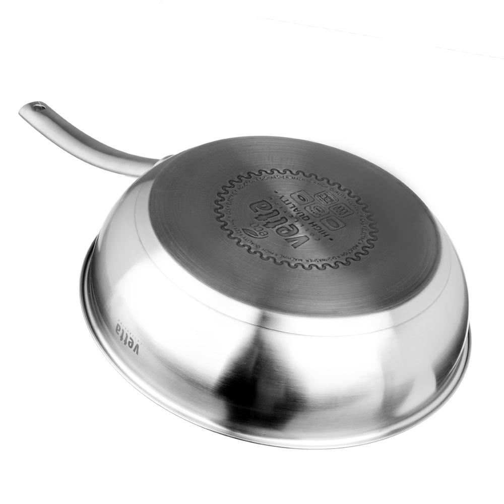 """Сковорода с антипригарным покрытием мрамор, индукция, 26х6,5см, VETTA """"Женева"""""""