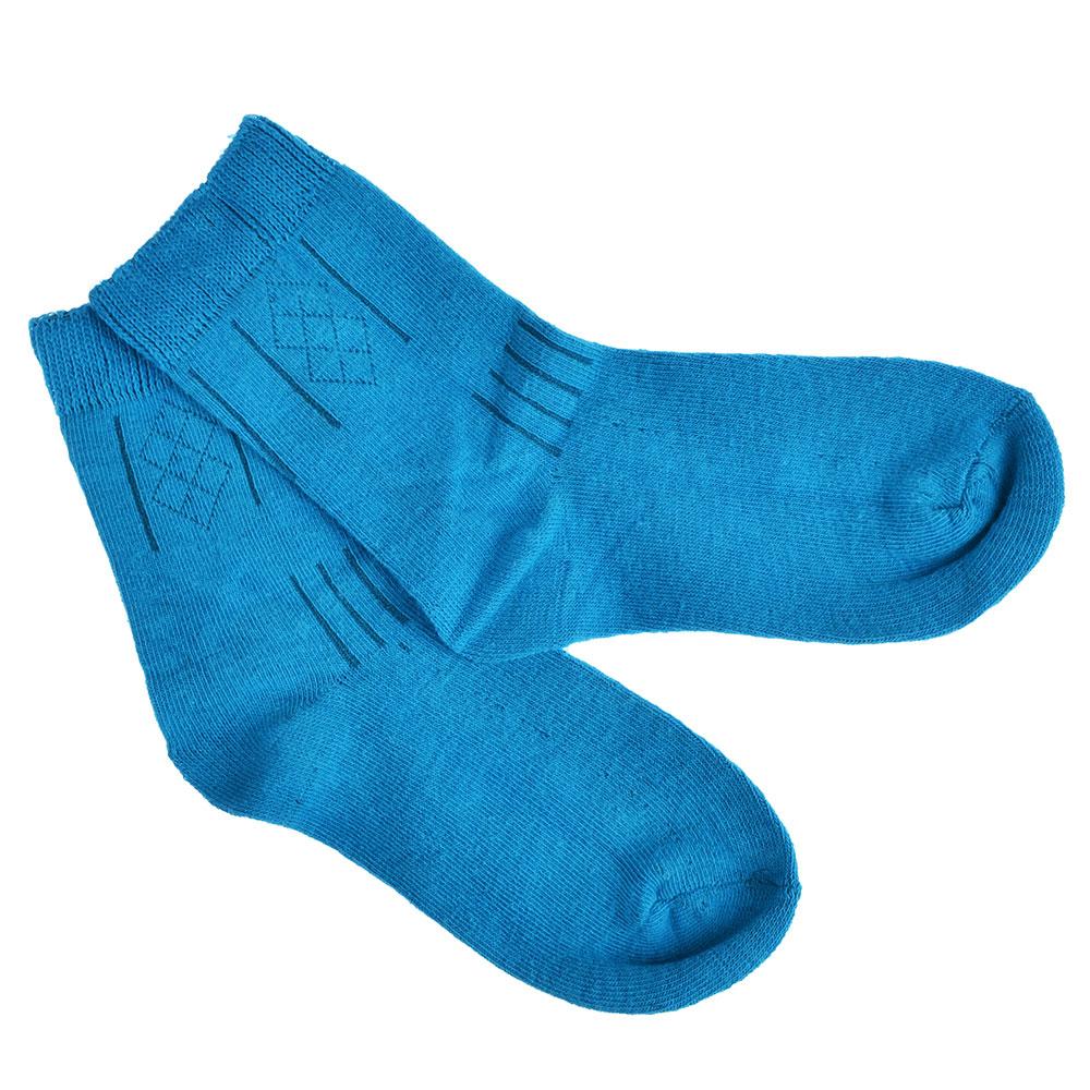 Носки детские, 85% хлопок, 15% полиамид, 16-18см/18-20см, 4 цвета