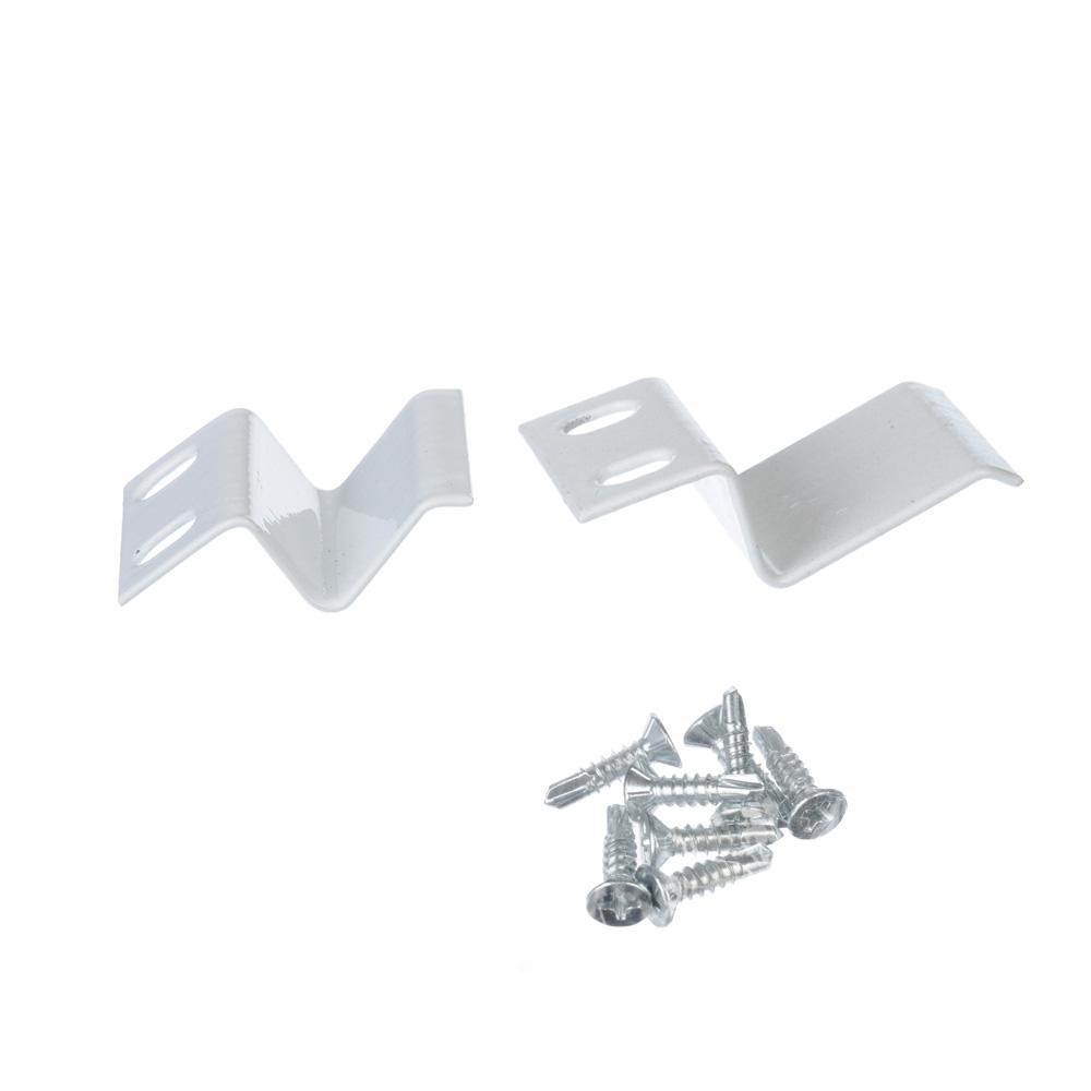 Крепление для москитной сетки, металл, белый