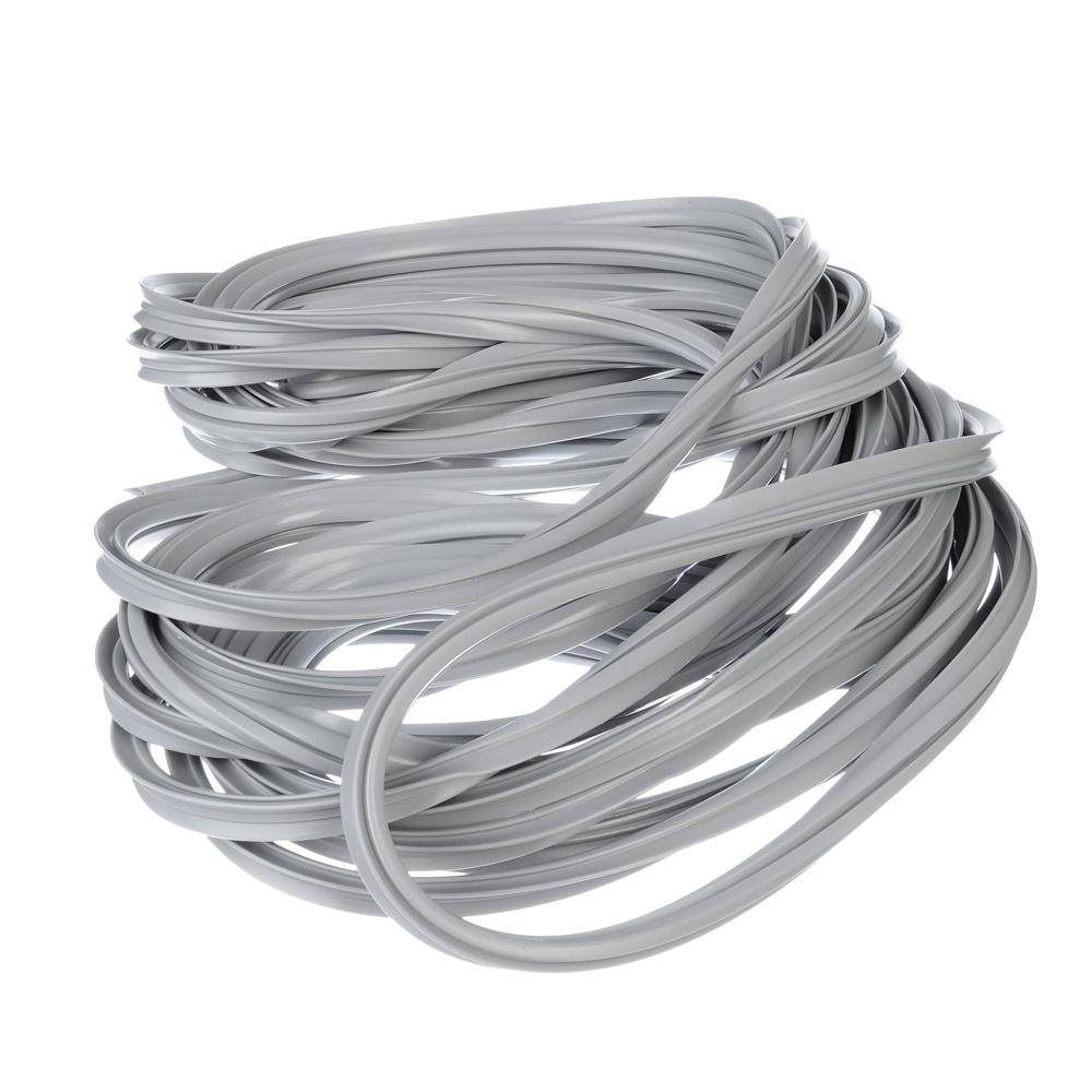 Уплотнитель для окон универсальный,10 м, серый (эластомер)