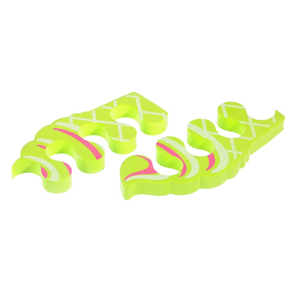Разделители для пальцев, мягкий полиуретан, 10см, 3 цвета