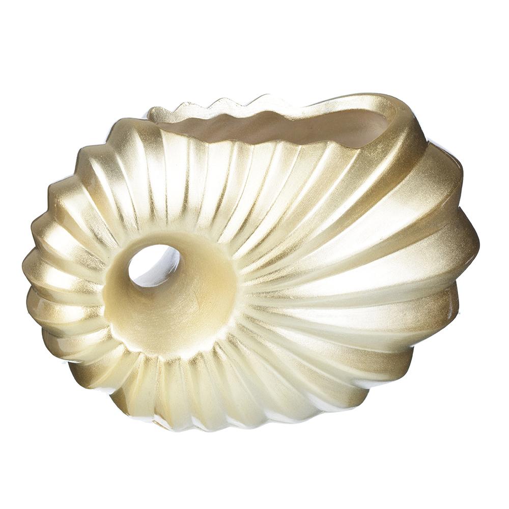 Ваза декоративная керамическая фигурная, 24х13х16 см