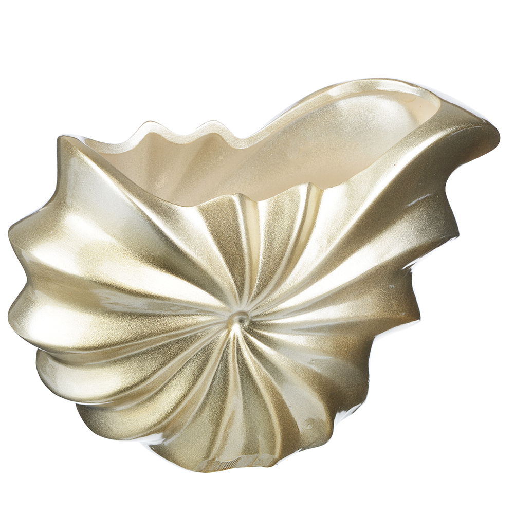 Ваза декоративная керамическая фигурная, 24х16х10 см
