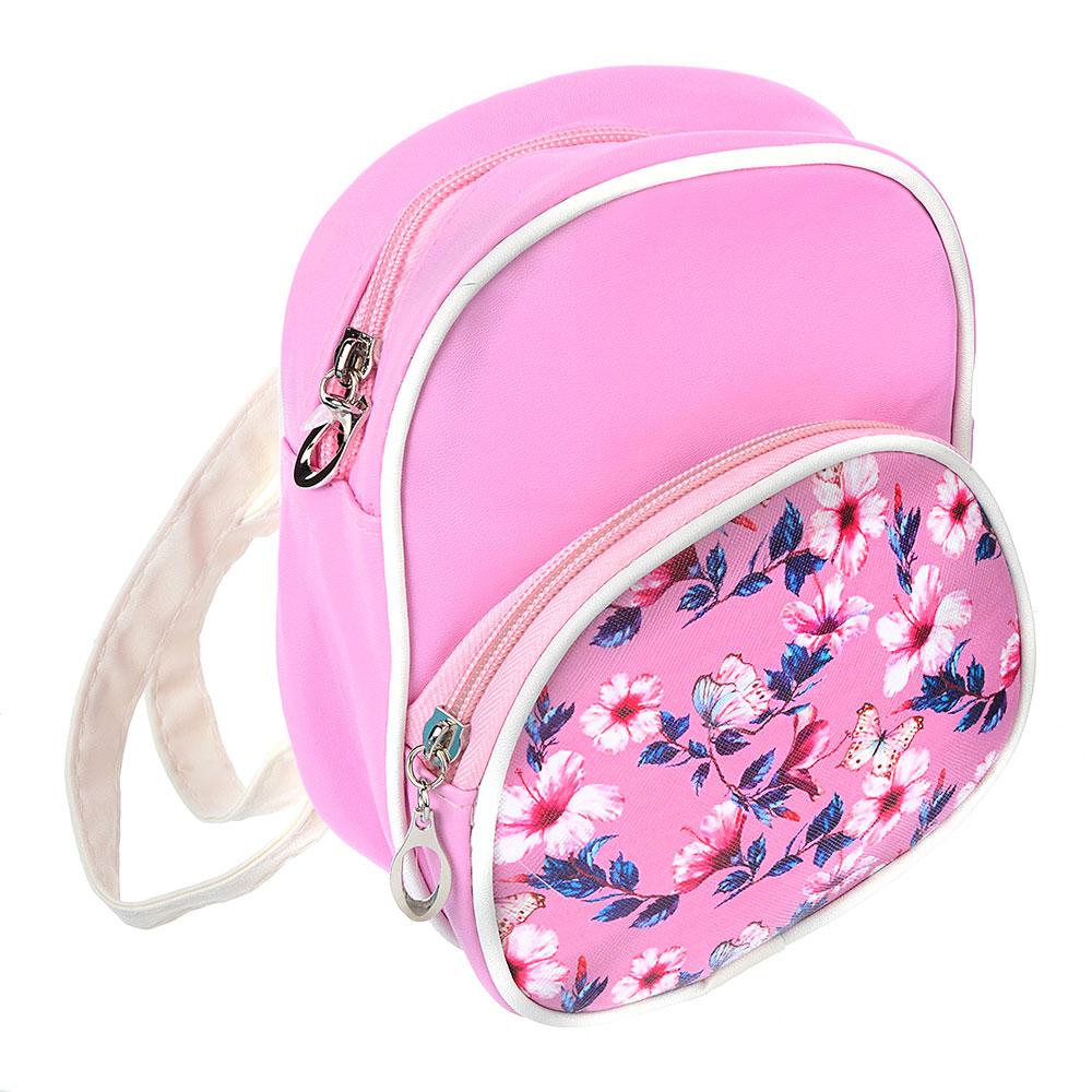 Рюкзак детский, ПВХ, сплав, 18х14х6 см, 2 цвета, PAVO