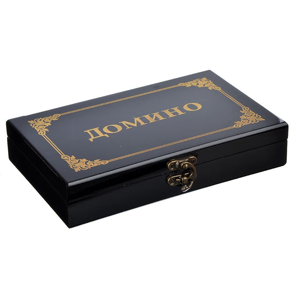 Домино в подарочной коробке, 20,6х12,6х4,5 см, дерево