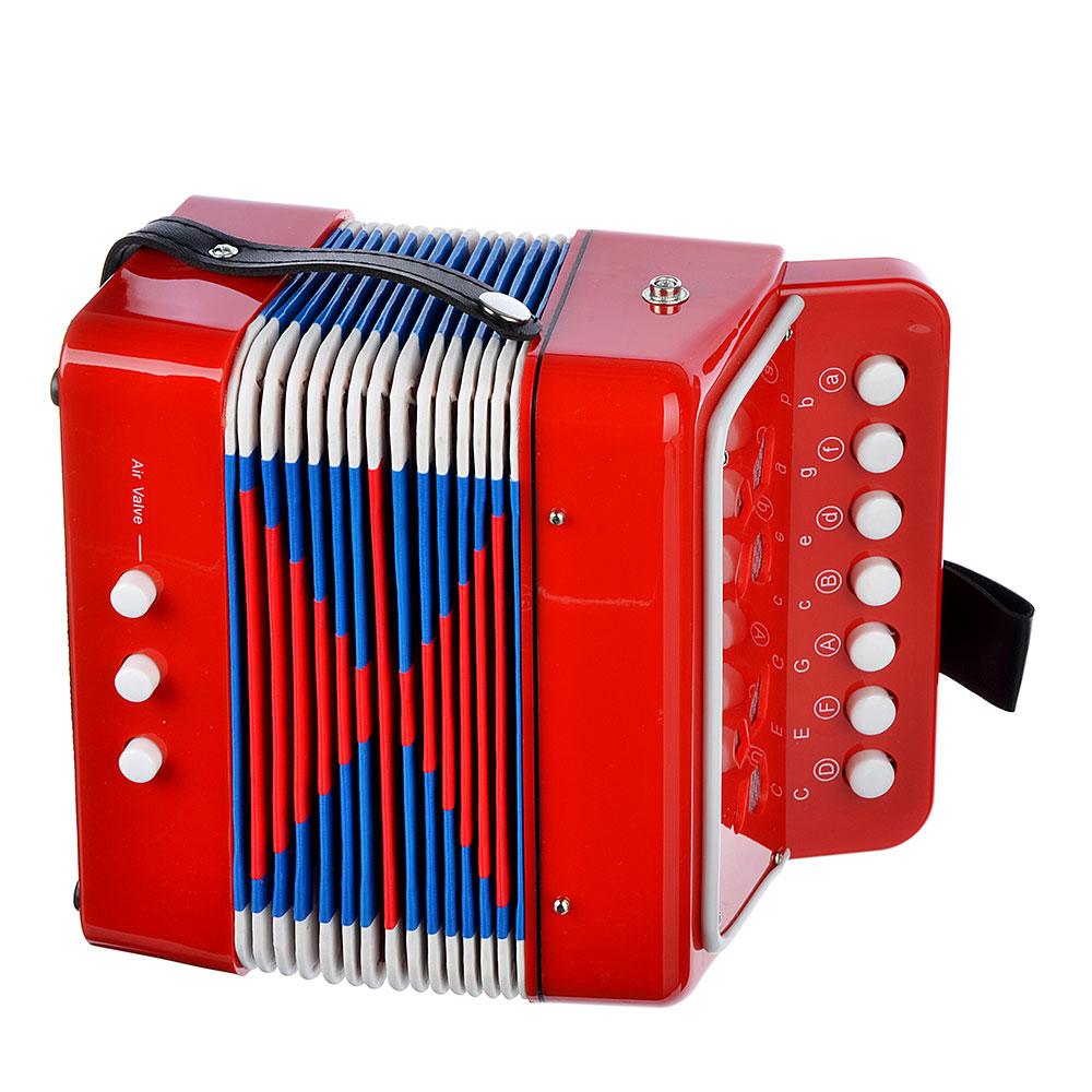 Игра музыкальная, гармонь, 17х10,5х17,5 см, пластик