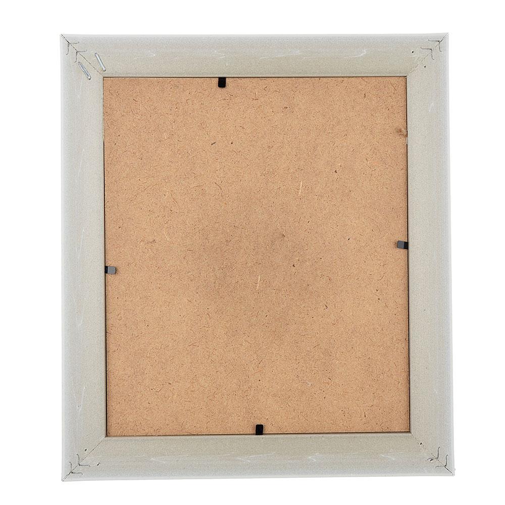 Фоторамка с прищепками, 22х25 см, 2 цвета, МДФ, полиэстер