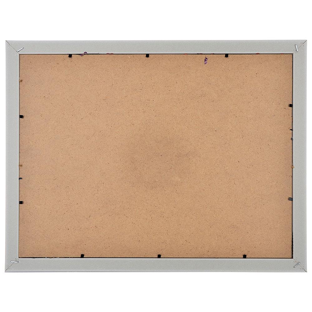 Фоторамка с пайетками и прищепками на 4 фотографии, 43х34 см, 4 цвета, ПВХ, пластик, МДФ