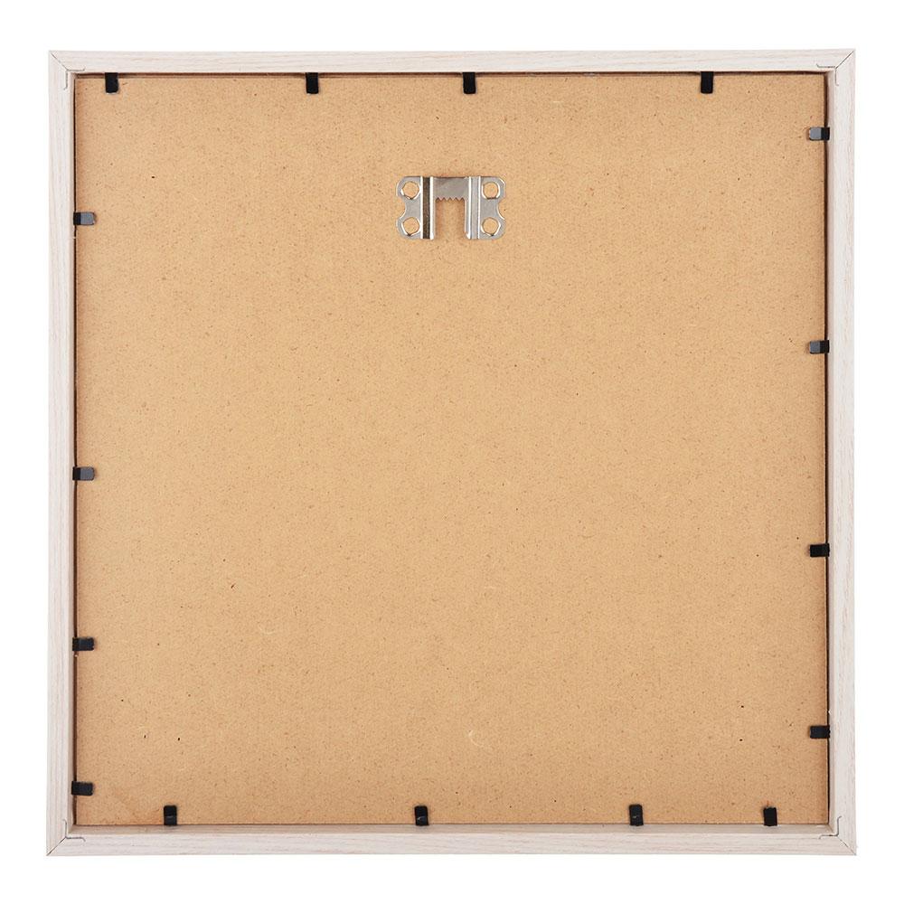 Фоторамка магнитная, на 3 фотографии, 26,5х26,5х3,5 см, МДФ, пластик