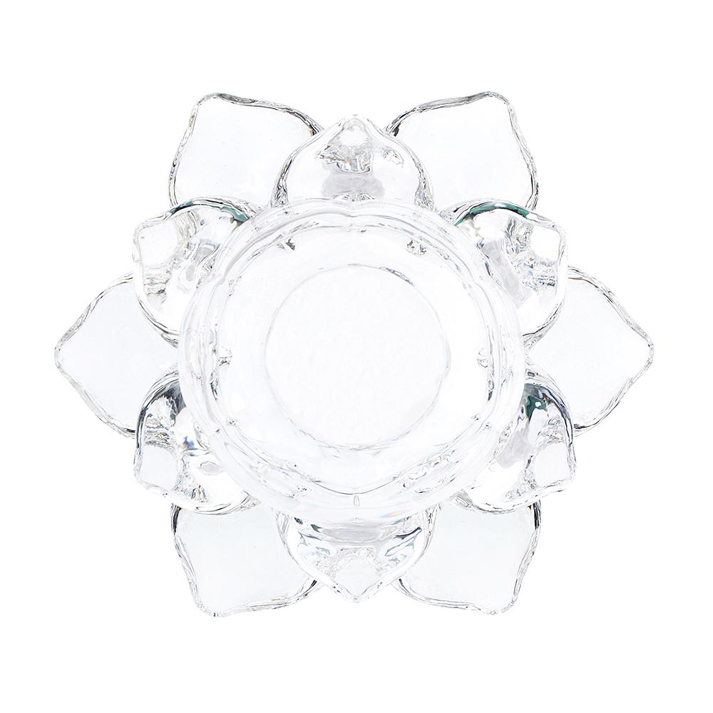 Подсвечник, стекло, 12х5 см
