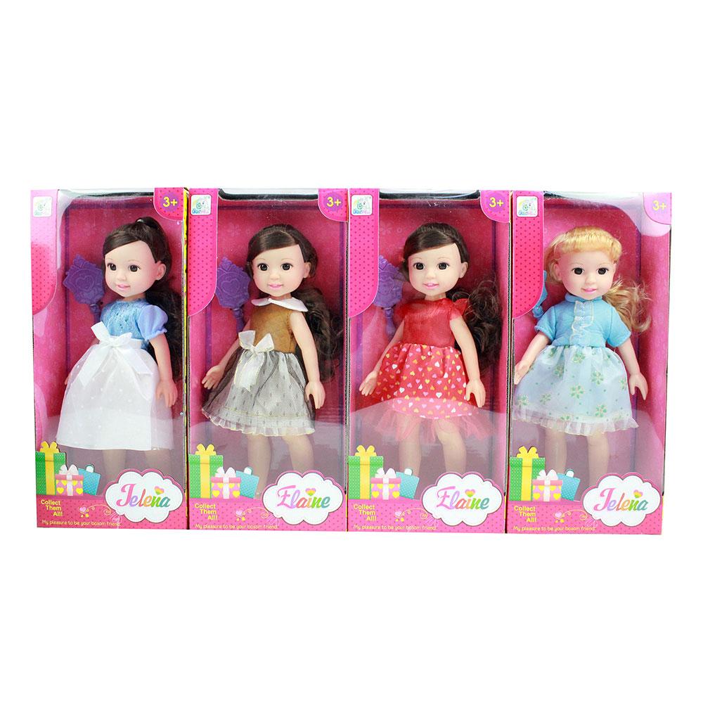 """Кукла """"Модная"""" 34см, пластик, полиэстр, 16х8х35см"""