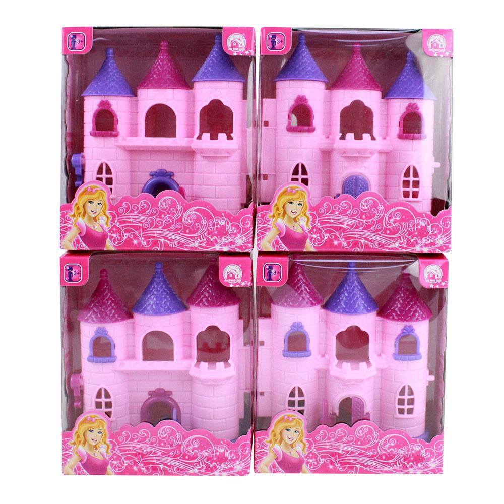 """Игровой набор """"Замок принцессы, пластик, 12х6х14 см"""