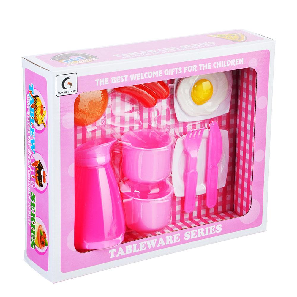 "Игровой набор ""Завтрак"", 9 пр., пластик, 27,5х7х22,5 см"