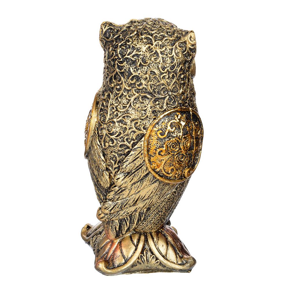 Фигурка в виде совы, 5,5х5,5х13,5 см, полистоун, 2 вида