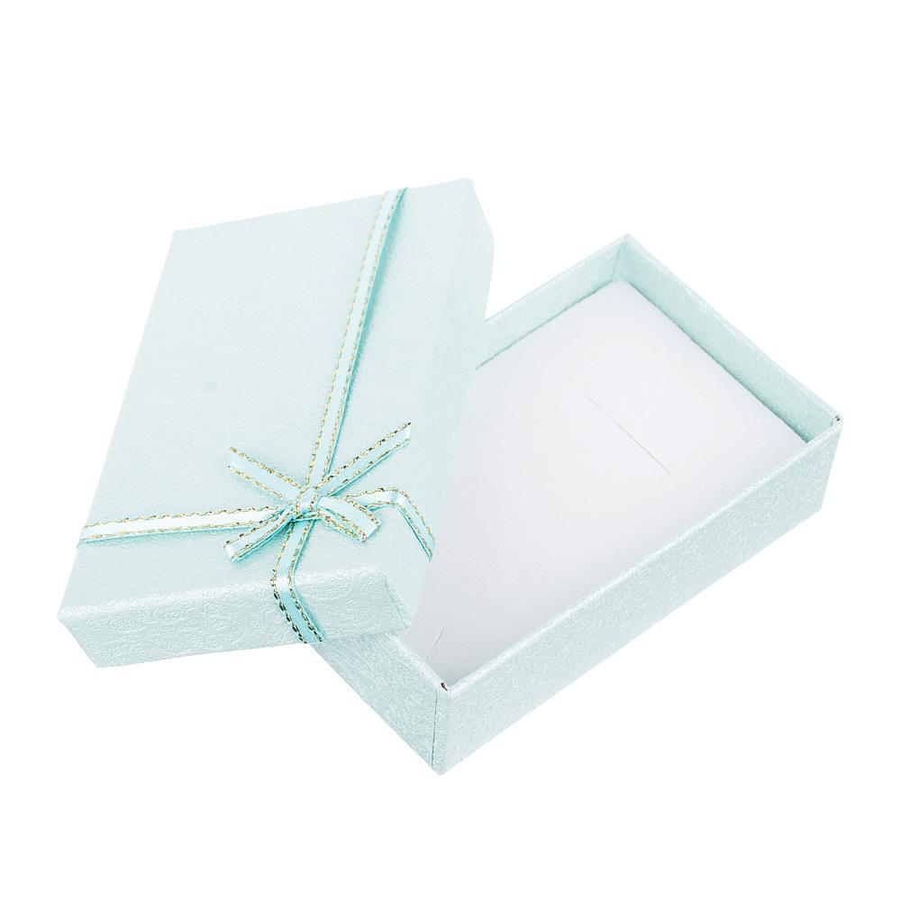Коробка подарочная с бантом, 5х8х2,5 см, 5 цветов