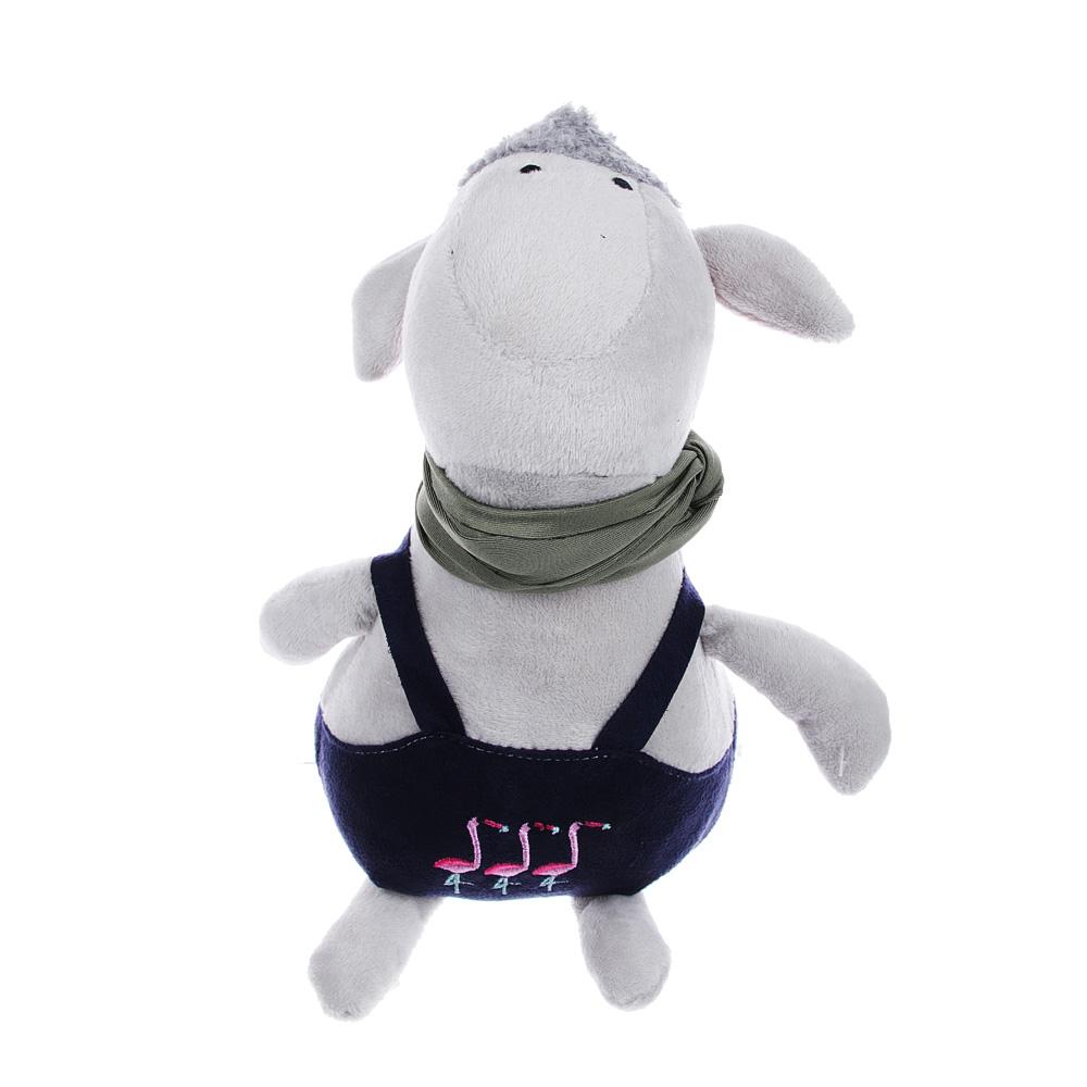 МЕШОК ПОДАРКОВ Мягкая игрушка в виде зверей в одежде, 23см, полиэстер, 3-6 дизайнов