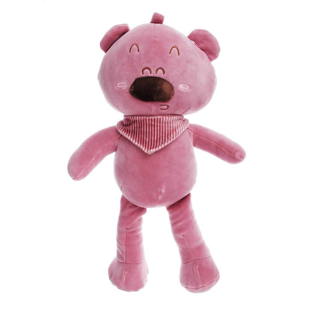 МЕШОК ПОДАРКОВ Мягкая игрушка Плюшевые животные, 37см, полиэстер, 3 дизайна