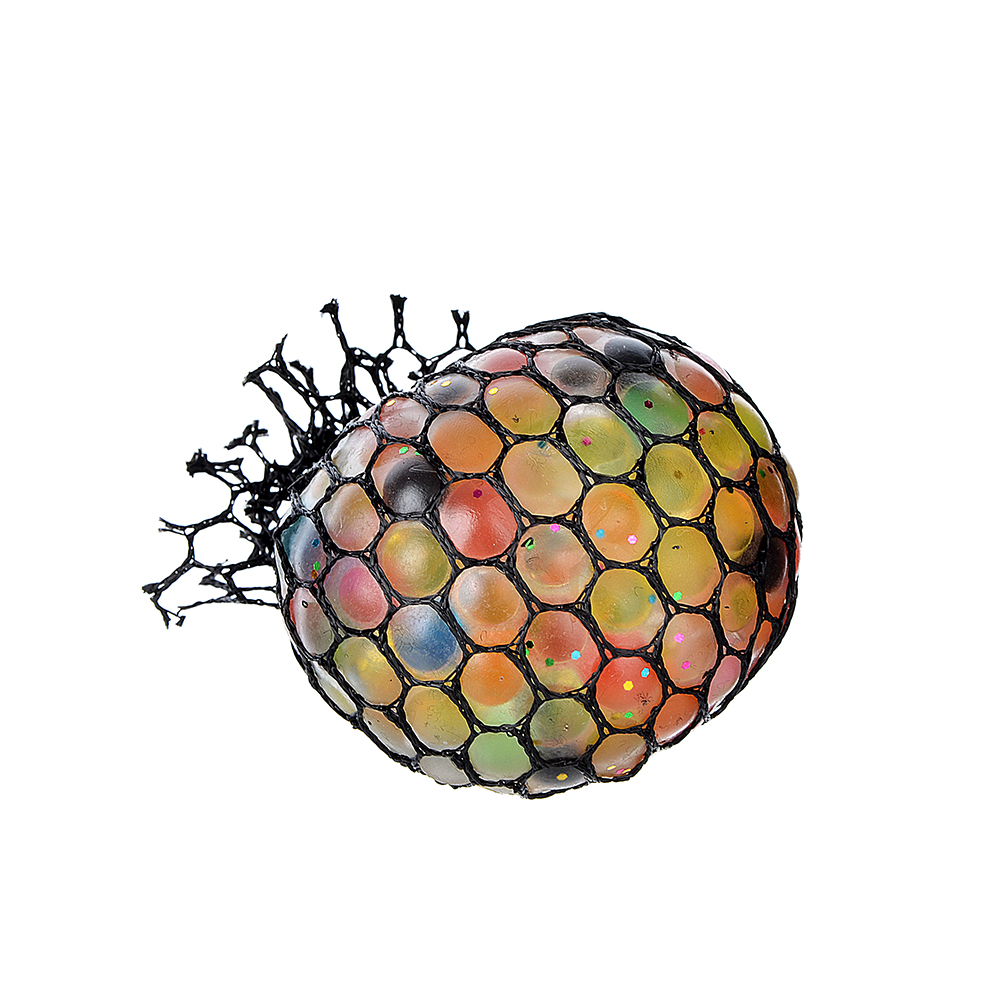 Мялка разноцветная, полимер, 6х6х6см