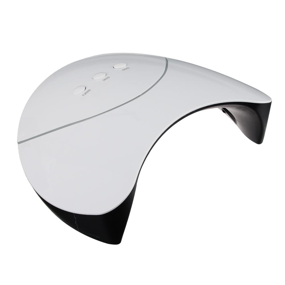 Лампа для сушки гель-лака 36W, 19х8х17,6 см, пластик, USB-провод, UV/LED