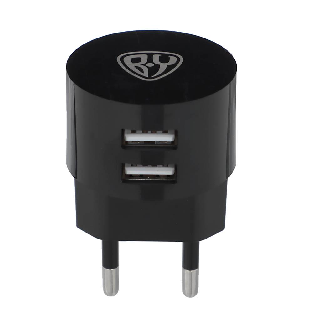 BY Зарядное устройство, 1 USB, 220В, 2A