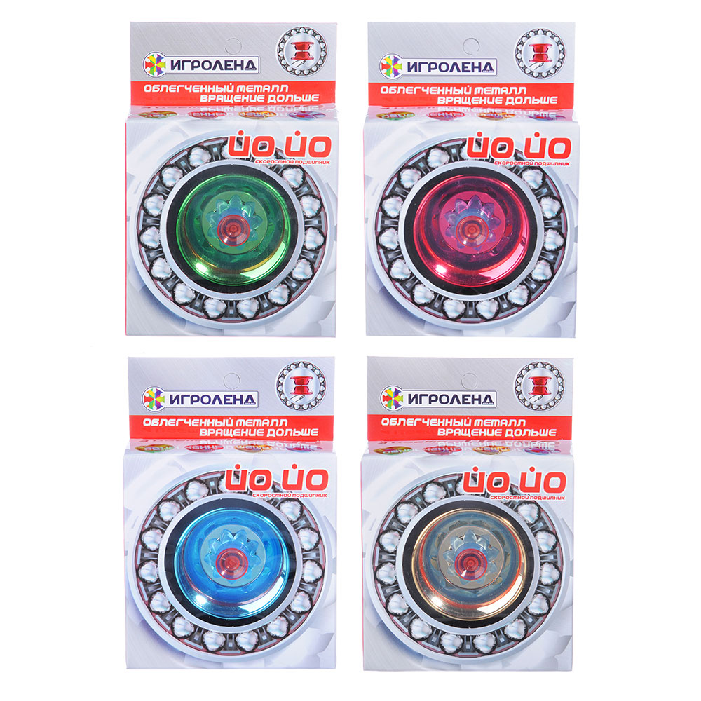 ИГРОЛЕНД Игрушка супер йо-йо, пластик, металл, 5,5х5,5х3,4см