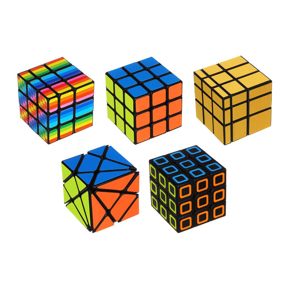 "ИГРОЛЕНД Головоломка ""Мир квадратов. Кубик"", пластик, 5,8х5,8х5,8см"
