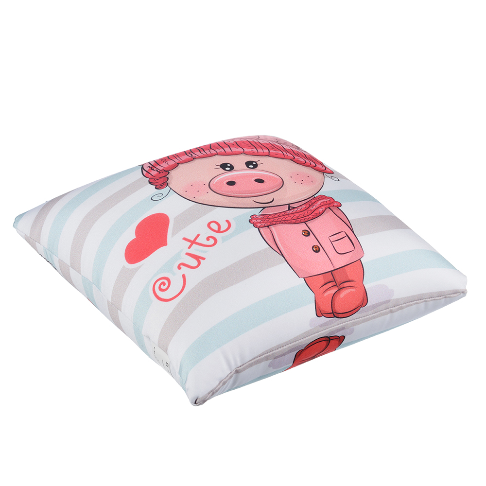 """Подушка - мнушка """"Свинка"""", 29х29см, 8 дизайнов GC"""