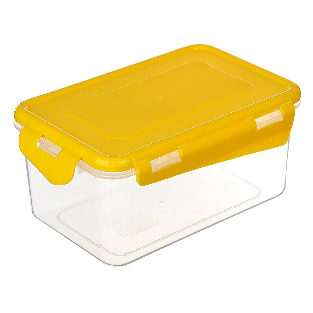 VETTA Контейнер для СВЧ пластик, прямоугольный с защелками, 1,5л, V167042